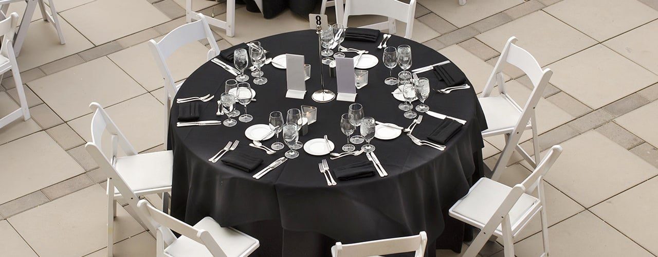 Folding Table Shapes Sizes, Explain Round Table Conference