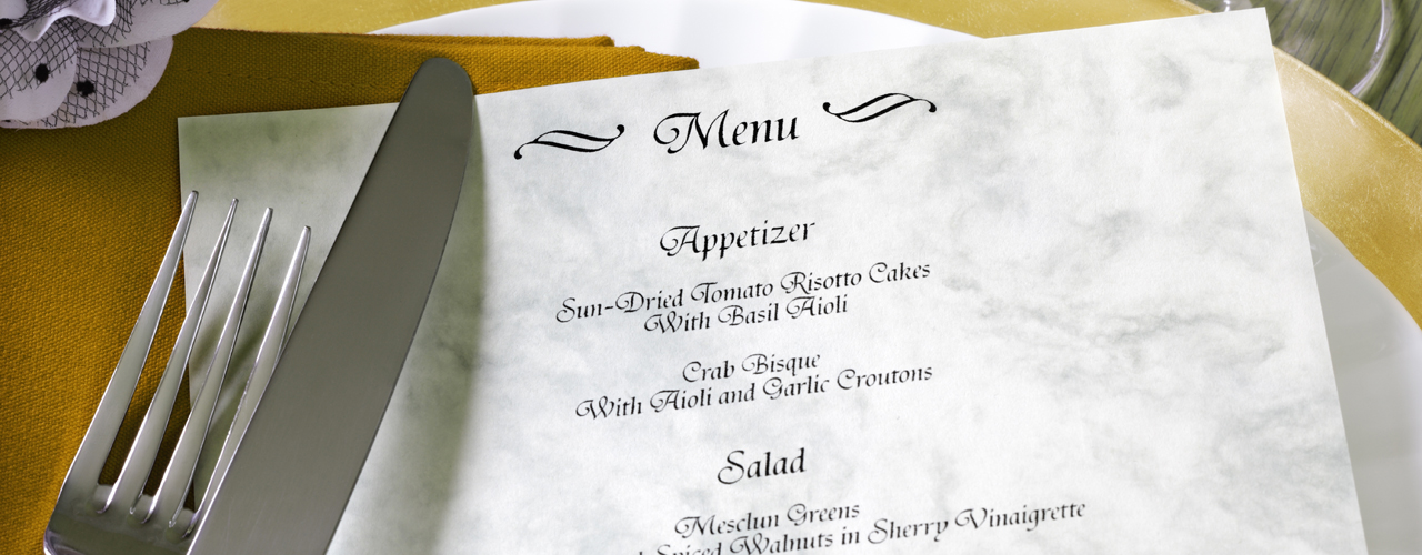 How to Choose the Right Menu and Display Type