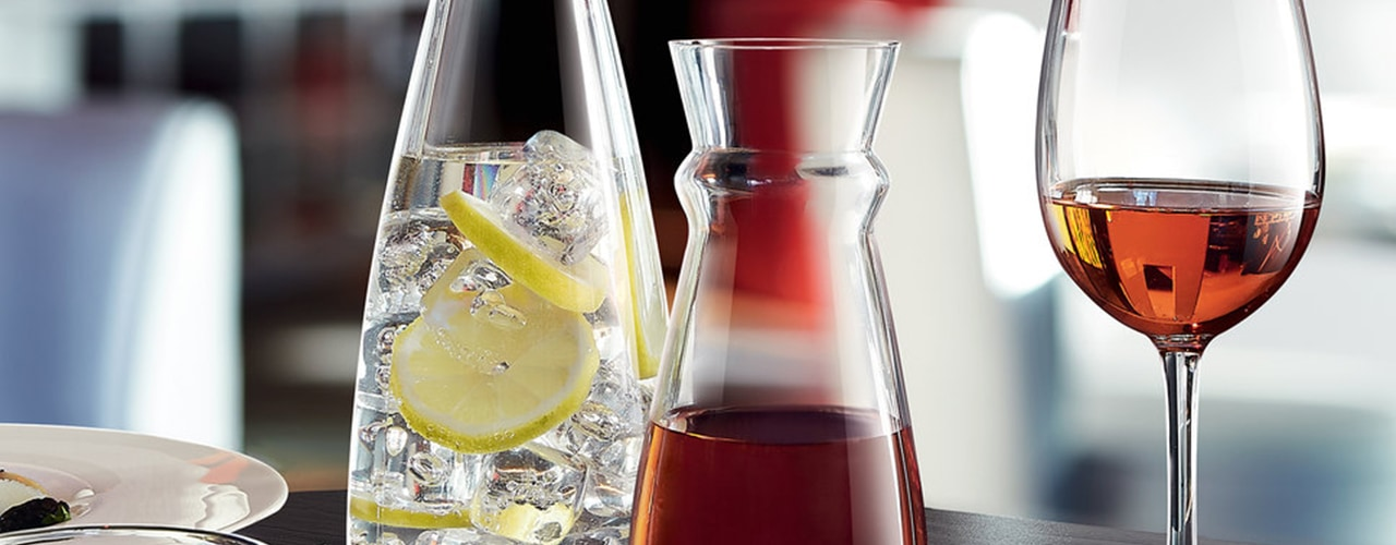 Types of Carafes & Decanters