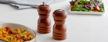 Types of Salt and Pepper Shakers and Mills