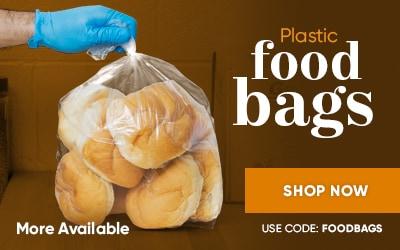 Plastic Food Bags on Sale