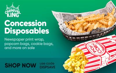 Concession Disposables on Sale