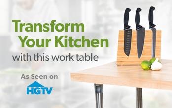 Work Table as Seen on HGTV