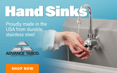 Advance Tabco Hand Sinks
