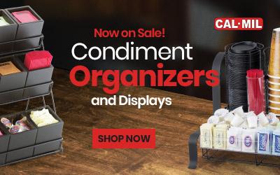 Condiment Organizers