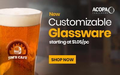 Customizable Glassware