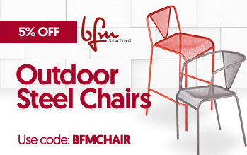 BFM Outdoor Steel Chairs