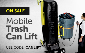 Mobile Trash Can Lift