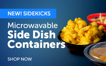 Microwavable Side Dish Containers