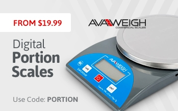 AvaWeigh Digital Portion Scales