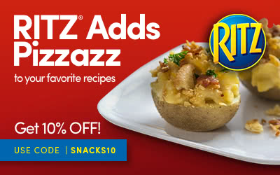 RITZ Crackers Add Pizzazz