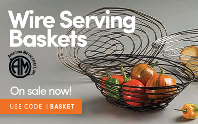 Wire Serving Baskets