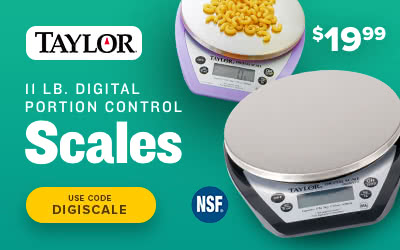 Taylor Digital Portion Scales on sale