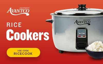 Avantco rice cookers on sale