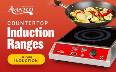 Avantco Countertop Induction Ranges on sale