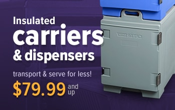 CaterGator Carriers and Dispensers