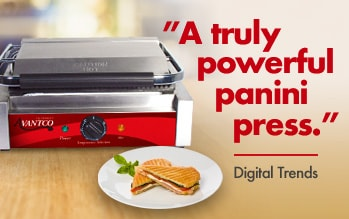Avantco Commercial Panini Sandwich Grill