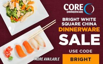 Core Dinnerware Sale