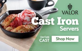 Valor Cast Iron Cookware