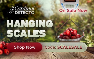 Cardinal Detecto Hanging Scales - On Sale Now - Shop Now - Code: SCALESALE