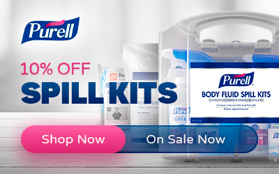 Purell - 10% Off Spill Kits - Shop Now - Code: SPILLZ