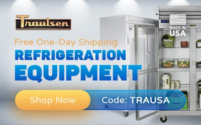 Traulsen - Free One-Day Shipping Refrigeration Equipment - Shop Now - Code: TRAUSA - Made in USA