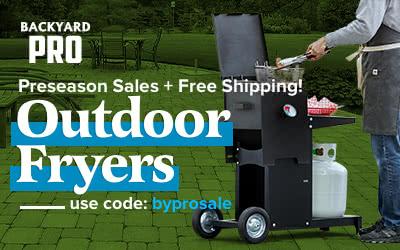 Backyard Pro Outdoor Fryers