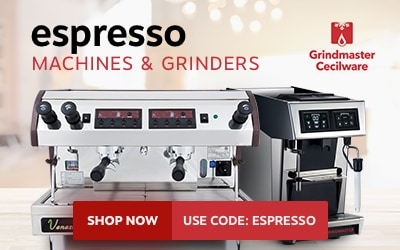 Grindmaster espresso machines and grinders on sale