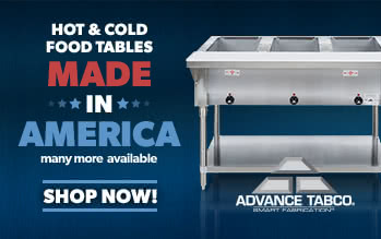 05292017 Advance Tabco Tables