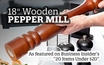 Wooden Pepper Mill