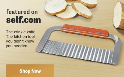 As Featured on Self.com - Crinkle Knife
