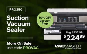 Vacmaster Vacuum Sealer and Bags