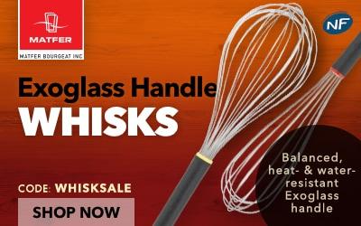 Matfer Exoglass Handle Whisks