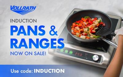 Vollrath Induction Pans & Ranges
