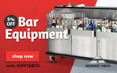 Advance Tabco Bar Equipment