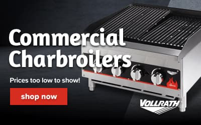 Vollrath Charbroilers