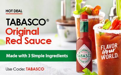 Tabasco Original Red Sauce on Sale