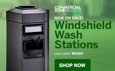 Commercial Zone Windshield Wash Stations