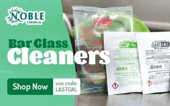 Noble Bar Cleaning Chemicals