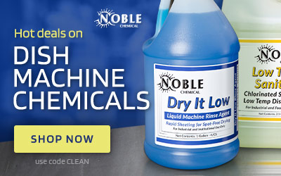 Dish Machine Chemicals