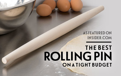 Wood Tapered French Rolling Pin