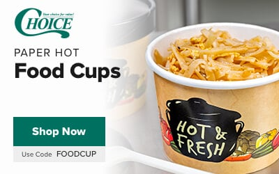 Choice Hot Food Cups