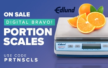 Edlund BRAVO! Portion Scales