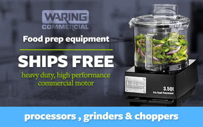 Waring Commercial Food Prep Equipment