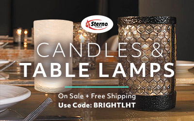 Candles and Table Lamps