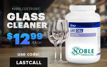 Last Call Glass Cleaner