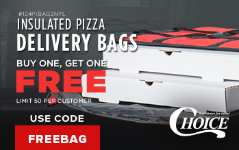 Choice Pizza Delivery Bags