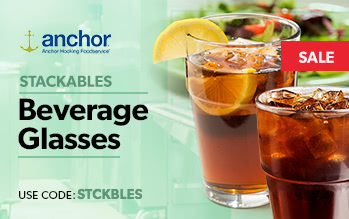 Stackable Beverage Glasses