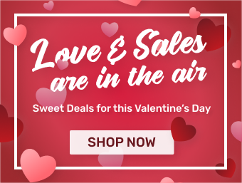 Sweet Deals for this Valentine's Day