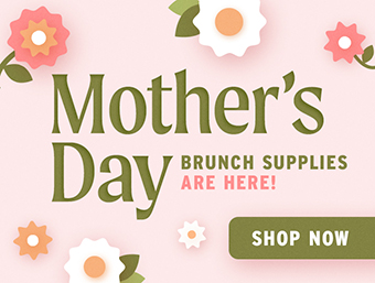 Mother's Day Brunch Supplies